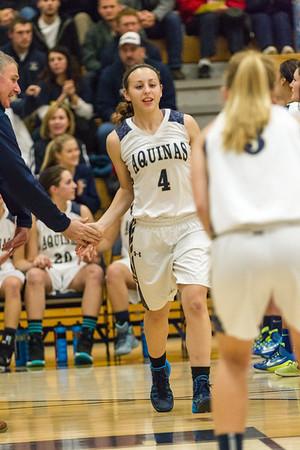 2014-12-12 Aquinas Basket Ball vs Holmen