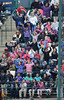 4/4/2014 Mike Orazzi | Staff<br /> New Britain school children in the stands during Friday's game with the Richmond Flying Squirrels in New Britain.