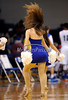 2/15/2014 Mike Orazzi | Staff<br /> Members of the Central Connecticut State University Dance Team during Saturday's basketball game with Sacred Heart University.