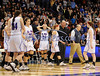 3/22/2014 Mike Orazzi | Staff<br /> St. Paul Catholic as Thomaston celebrates a win in the CIAC 2014 State Girls Basketball Tournament Class S Final at Mohegan Sun Arena Saturday. Thomaston won 61-57 in double over-time.