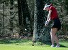 5/1/2014 Mike Orazzi | StaffConard High School's Madison Soucy during Thursday's match with Berlin at the Timberlin Golf Club.
