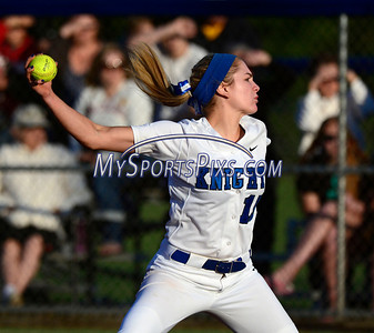 6/14/2014 Mike Orazzi | Staff Southington High School Kendra Friedt (15) during Saturday's Class LL Final with Amity at West Haven High School.