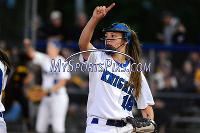 6/14/2014 Mike Orazzi | Staff Southington High School's Lauren Zazzaro (18) during Saturday's Class LL Final with Amity at West Haven High School.
