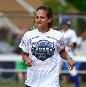 6/6/2014 Mike Orazzi | Staff Southington'sDavina Hernandez during a 2-1 win over Cheshire in the Class LL Quarterfinal at Southington High School Friday.