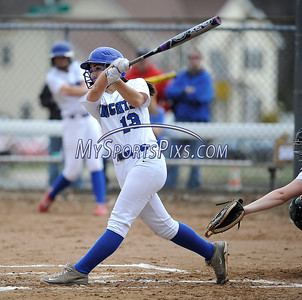 4/11/2014 Mike Orazzi | Staff Southington's Sydney Ferrante (13) during Friday's softball game with Bristol Eastern at SHS.