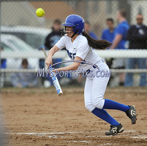 4/11/2014 Mike Orazzi | Staff Southington's Caroline Burke (3) during Friday's softball game with Bristol Eastern at SHS.