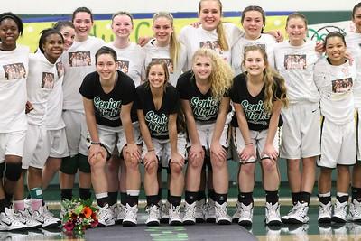 LHS Girls Basketball Senior Night Feb 20th