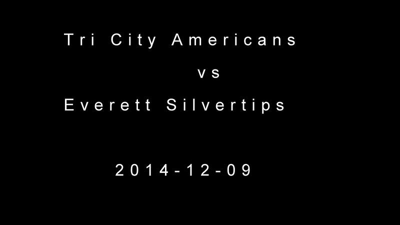 2014-12-09 Tri City Americans vs Everett Silvertips