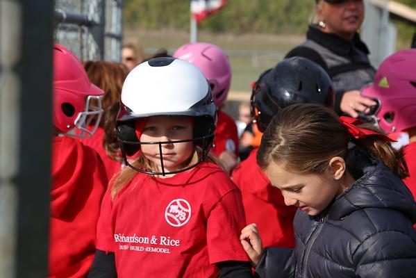 2015 10 17 Red Crushers Softball