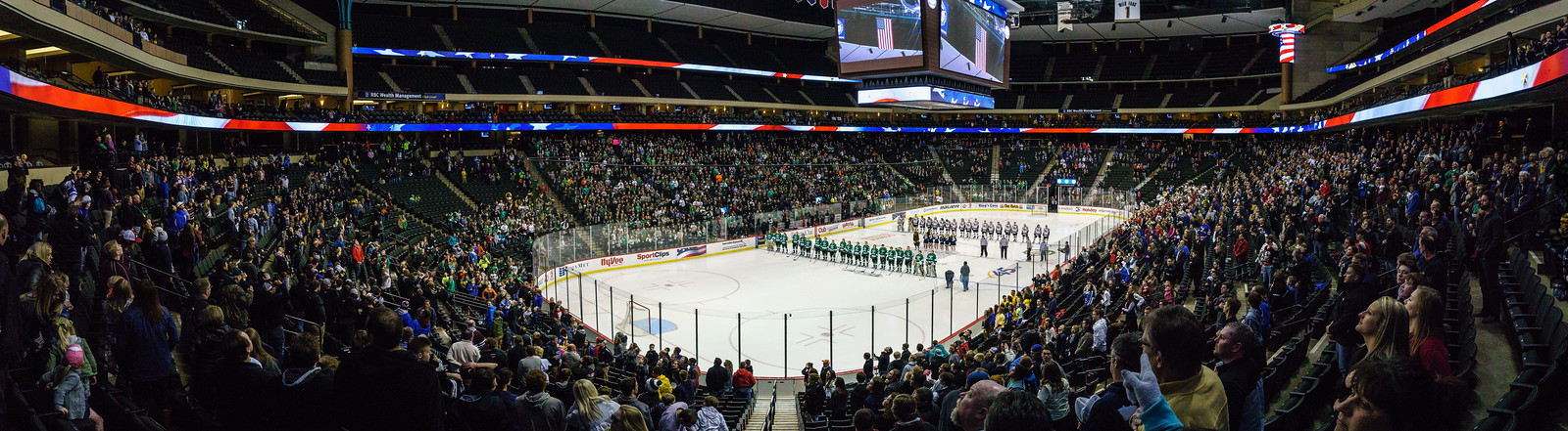 LDC Boys Hockey vs Hermantown at State Tournament 2016