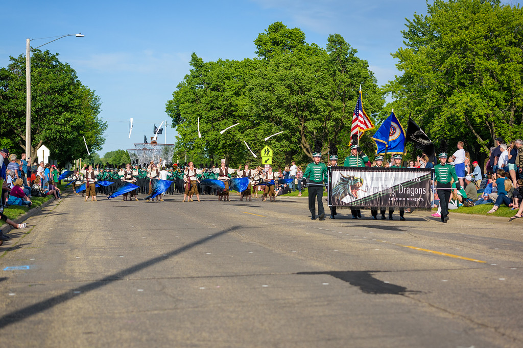 LHS Dragons Marching Band