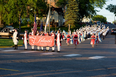 Litchfield Marching Dragons in Gateway to the Northland Parade