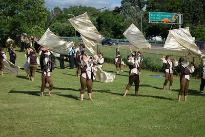 Marching Dragons at Roseville Parade