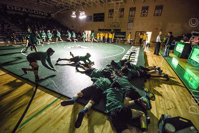 LHS Wrestling vs Big Lake Sections Tournament