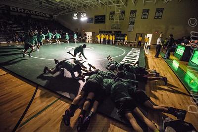 LHS Wrestling vs Big Lake Sections Tournament