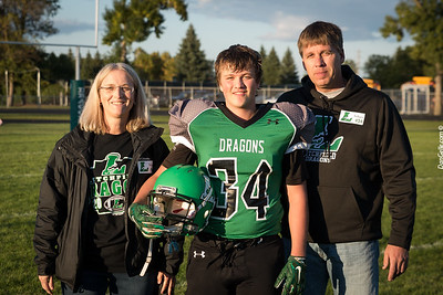 Litchfield Dragons Footbll vs DC Chargers