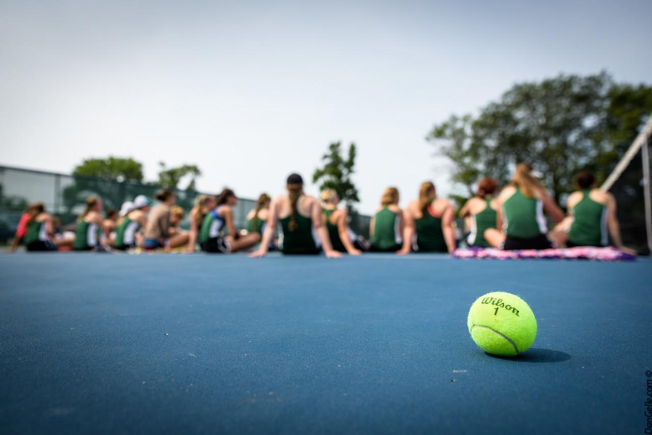 Girls Dragon Tennis vs Orono