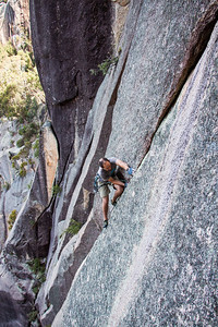 Andy Schmutter on Hard Rain, Mount Buffalo
