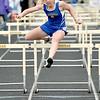 Anna Zowada runs during the prelims of the 100-meter hurdles Tuesday at Sheridan High School. Mike Pruden | The Sheridan Press