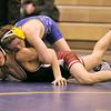 Sheridan's Trevon Covolo flips Riverton's Casey Chancellor before pinning him Friday at Sheridan High School. Mike Pruden | The Sheridan Press