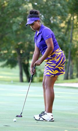 8-11-15<br /> Northwestern girls golf at Green Acres<br /> 3 Amanda Wilson<br /> Kelly Lafferty Gerber | Kokomo Tribune