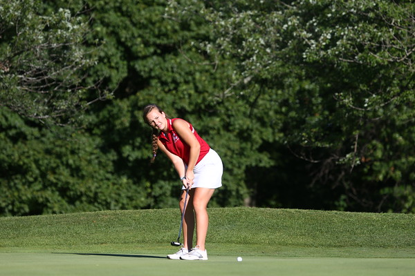 8-12-15<br /> KHS girls golf<br /> 2 Sydney Murphy<br /> Kelly Lafferty Gerber | Kokomo Tribune