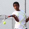 8-29-15<br /> Boys Tennis<br /> Western 1 singles Pranav Haran<br /> Kelly Lafferty Gerber | Kokomo Tribune