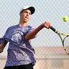 8-29-15<br /> Boys Tennis<br /> Northwestern 1 singles Clayton Douglas<br /> Kelly Lafferty Gerber | Kokomo Tribune