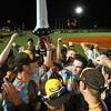 8-6-15<br /> Jackrabbits vs Sliders<br /> The Jackrabbits celebrate after winning 5-4 in 11 innings.<br /> Kelly Lafferty Gerber | Kokomo Tribune