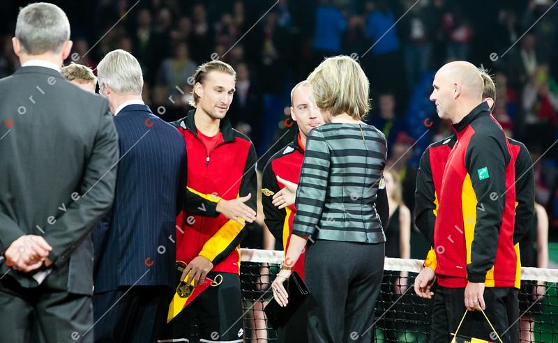 Philipe und Mathilde von Belgien