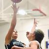 12-19-15<br /> Lewis Cass vs Western girls basketball<br /> Western's Clair Lechner<br /> Kelly Lafferty Gerber | Kokomo Tribune