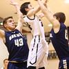 12-22-15<br /> Western vs Oak Hill boys basketball<br /> Western's Kaleb Howard<br /> Kelly Lafferty Gerber | Kokomo Tribune