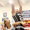 12-19-15<br /> Lewis Cass vs Western girls basketball<br /> Cass' Bailey Gremelspacher and Western's Kaylee Penning<br /> Kelly Lafferty Gerber | Kokomo Tribune