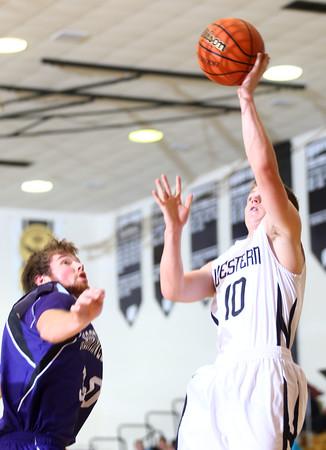 12-4-15<br /> Western vs Northwestern boys basketball<br /> Western's Josh Beeler<br /> Kelly Lafferty Gerber | Kokomo Tribune