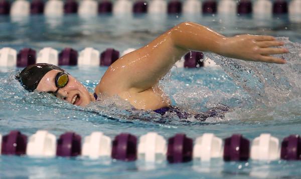 12-3-15<br /> Northwestern vs Logansport swim meet<br /> Northwestern's Kathleen Babcock in the Girls 200 Freestyle<br /> Kelly Lafferty Gerber   Kokomo Tribune