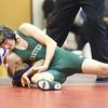 12-2-15<br /> KHS vs EHS wrestling<br /> Eastern's Macaiah White and Kokomo's Nigel Lenoir<br /> Kelly Lafferty Gerber | Kokomo Tribune