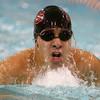 12-3-15<br /> Northwestern vs Logansport swim meet<br /> Logansport's David Servin in the Boys 200 IM<br /> Kelly Lafferty Gerber | Kokomo Tribune