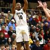 12-29-15<br /> Peru vs Maconaquah boys basketball<br /> Peru's Jeremiah Johnson<br /> Kelly Lafferty Gerber | Kokomo Tribune