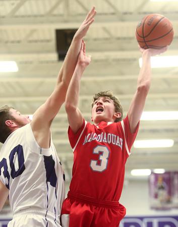 12-18-15<br /> Northwestern vs Maconaquah boys basketball<br /> Maconaquah's Chandler Pitts<br /> Kelly Lafferty Gerber | Kokomo Tribune