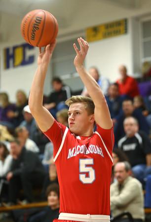 12-18-15<br /> Northwestern vs Maconaquah boys basketball<br /> Maconaquah's Ethan Larason<br /> Kelly Lafferty Gerber | Kokomo Tribune