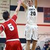 12-29-15<br /> Peru vs Maconaquah boys basketball<br /> Peru's Jonah Lester<br /> Kelly Lafferty Gerber | Kokomo Tribune