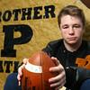 Peru football player Brady Miller<br /> Kelly Lafferty Gerber | Kokomo Tribune