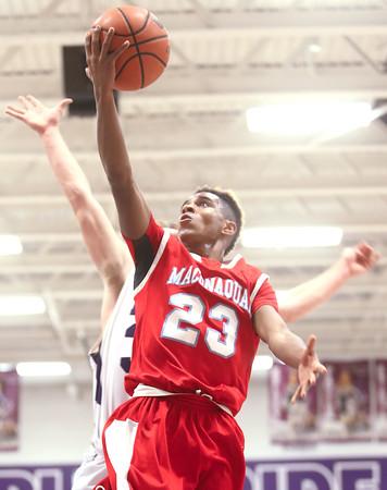 12-18-15<br /> Northwestern vs Maconaquah boys basketball<br /> Maconaquah's Keron Hullum<br /> Kelly Lafferty Gerber   Kokomo Tribune