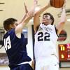 12-22-15<br /> Western vs Oak Hill boys basketball<br /> Western's Austin Anderson<br /> Kelly Lafferty Gerber | Kokomo Tribune