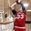 12-29-15<br /> Peru vs Maconaquah boys basketball<br /> Maconaquah's Wyatt Hughes<br /> Kelly Lafferty Gerber | Kokomo Tribune