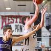 12-4-15<br /> Western vs Northwestern boys basketball<br /> Western's Brodee Lipinski<br /> Kelly Lafferty Gerber | Kokomo Tribune