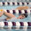 12-3-15<br /> Northwestern vs Logansport swim meet<br /> Northwestern's Hallie Roth in the GIrls 500 Freestyle<br /> Kelly Lafferty Gerber | Kokomo Tribune