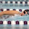 12-3-15<br /> Northwestern vs Logansport swim meet<br /> Northwestern's Mariah Roberts in the Girls 50 Freestyle<br /> Kelly Lafferty Gerber | Kokomo Tribune
