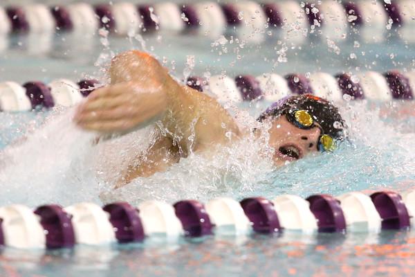 12-3-15<br /> Northwestern vs Logansport swim meet<br /> Northwestern's Gray Longshore in the Boys 100 Freestyle<br /> Kelly Lafferty Gerber   Kokomo Tribune