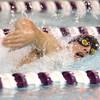 12-3-15<br /> Northwestern vs Logansport swim meet<br /> Northwestern's Gray Longshore in the Boys 100 Freestyle<br /> Kelly Lafferty Gerber | Kokomo Tribune
